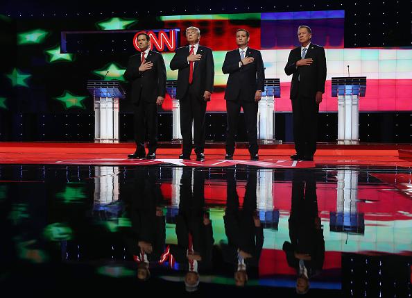 Super Tuesday「Republican Presidential Candidates Debate In Miami Area」:写真・画像(10)[壁紙.com]