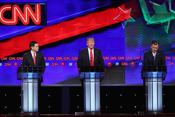 Super Tuesday「Republican Presidential Candidates Debate In Miami Area」:写真・画像(8)[壁紙.com]