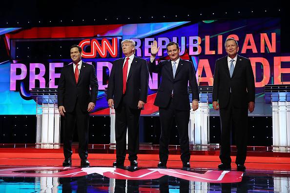 Candidate「Republican Presidential Candidates Debate In Miami Area」:写真・画像(14)[壁紙.com]