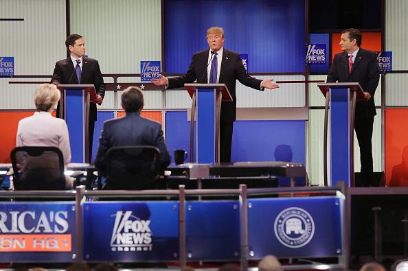 Super Tuesday「GOP Presidential Candidates Debate In Detroit」:写真・画像(13)[壁紙.com]