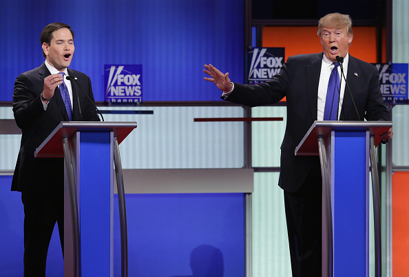 Super Tuesday「GOP Presidential Candidates Debate In Detroit」:写真・画像(16)[壁紙.com]