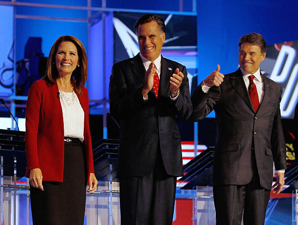 GOP Presidential Candidates Participate In Debate In Tampa:ニュース(壁紙.com)