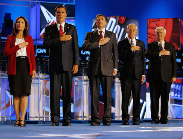 GOP Presidential Candidates Participate In Debate In Tampa:ニュース(壁紙.com)