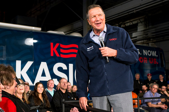 Super Tuesday「John Kasich Campaigns In Ohio One Day Before Primary」:写真・画像(6)[壁紙.com]