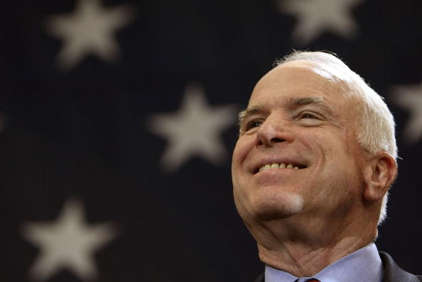 Super Tuesday「John McCain Stumps Throughout The Country Ahead Of Super Tuesday」:写真・画像(2)[壁紙.com]