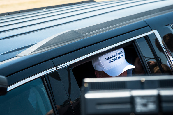 MAGA「Presidential Candidate Donald Trump Tours U.S. Border In Texas」:写真・画像(2)[壁紙.com]