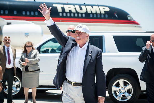 US Republican Party 2016 Presidential Candidate「Presidential Candidate Donald Trump Tours U.S. Border In Texas」:写真・画像(18)[壁紙.com]