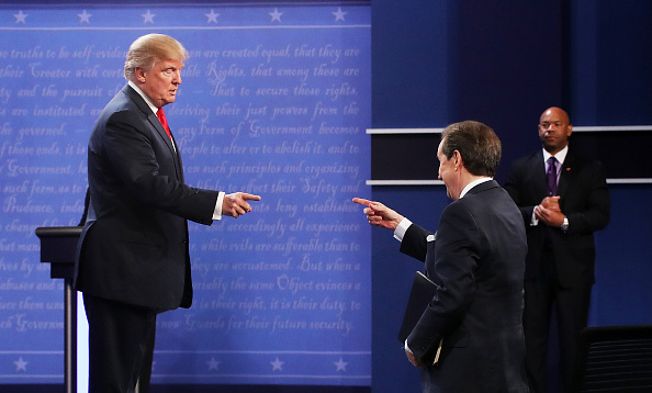 Fox Photos「Final Presidential Debate Between Hillary Clinton And Donald Trump Held In Las Vegas」:写真・画像(12)[壁紙.com]