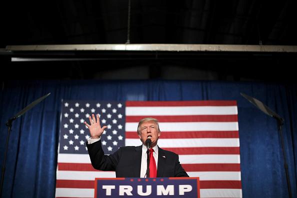 Speech「Donald Trump Campaigns In Golden, Colorado」:写真・画像(5)[壁紙.com]