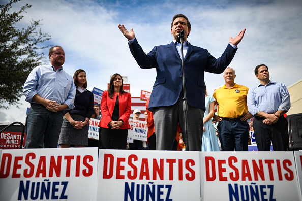 Orlando - Florida「Florida Gubernatorial Candidate Ron DeSantis Campaigns With Sen. Marco Rubo」:写真・画像(6)[壁紙.com]