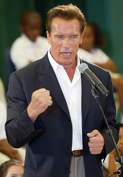 North America「Schwarzenegger Campaigns In Fresno」:写真・画像(16)[壁紙.com]