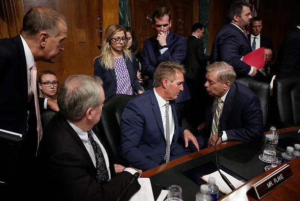 Win McNamee「Senate Judiciary Committee Holds Vote On Brett Kavanaugh Nomination」:写真・画像(11)[壁紙.com]