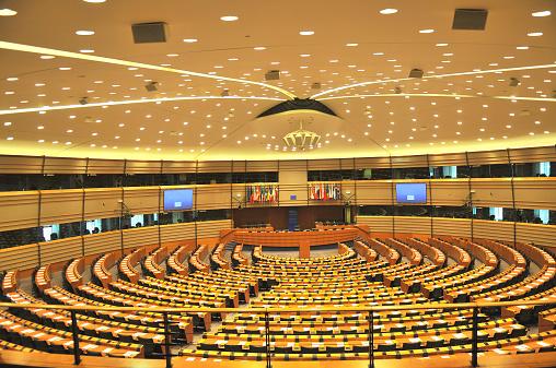 Belgium「Empty European Parliament Assembly Room, Brussels, Belgium」:スマホ壁紙(18)