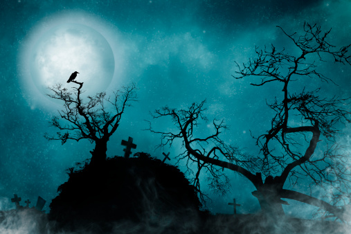 Moon「Old Cemetery」:スマホ壁紙(8)