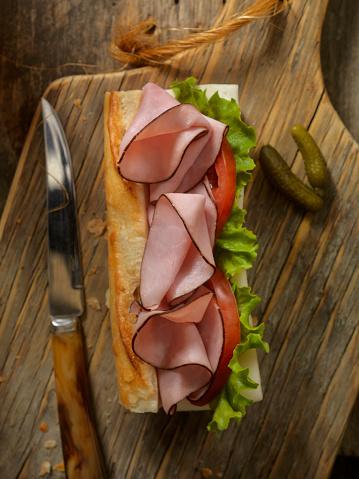 Lemon Soda「Ham and and Cheese Sandwich on a baguette」:スマホ壁紙(4)