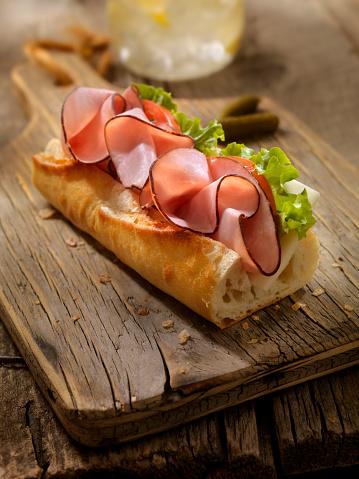 Lemon Soda「Ham and and Cheese Sandwich on a baguette」:スマホ壁紙(3)