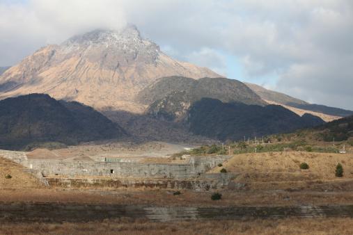 Volcanic Activity「Mount Unzen volcano, Japan.」:スマホ壁紙(13)