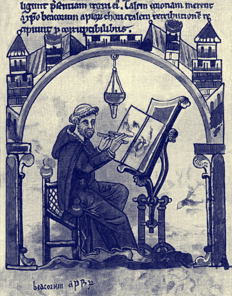 Writing「A Monk Illuminating, c. 1200」:写真・画像(4)[壁紙.com]