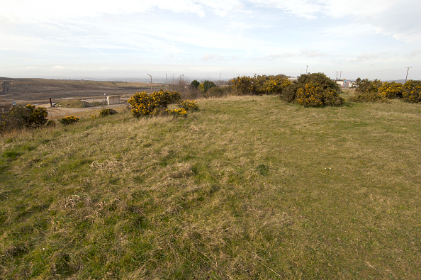 Horizon「View of brownfield land on the outskirt of Manchester, England, United Kingdom」:写真・画像(0)[壁紙.com]