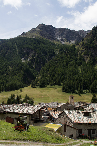 Piedmont - Italy「mountain village in summer」:スマホ壁紙(11)