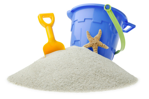 Sand Pail and Shovel「Beach Toys」:スマホ壁紙(12)