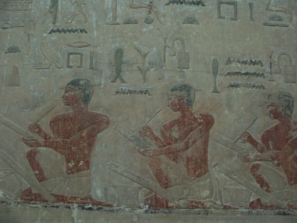 Paint「The Scribes Relief From Mastaba Of Akhethotep At Saqqara」:写真・画像(8)[壁紙.com]