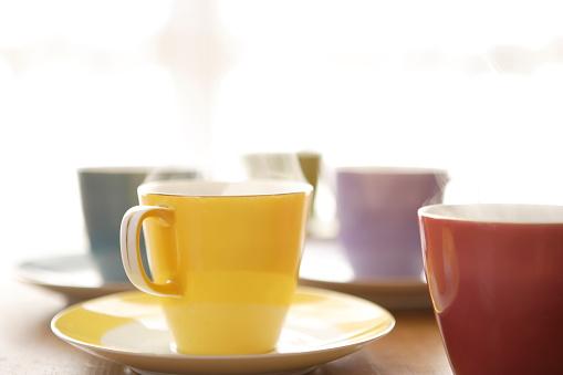 Coffee Break「Cups of coffee」:スマホ壁紙(18)