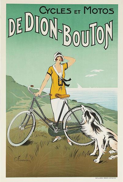 Art Nouveau「Cycles Et Motos De Dion-Bouton」:写真・画像(2)[壁紙.com]