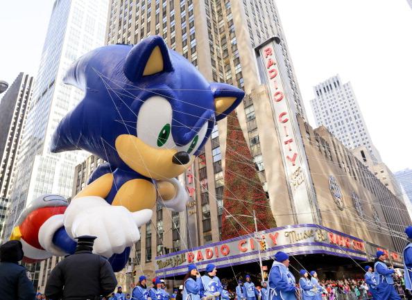 Hedgehog「Sonic The Hedgehog - Thanksgiving Day Parade」:写真・画像(19)[壁紙.com]
