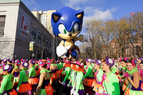 ハリネズミ「Sonic The Hedgehog - Thanksgiving Day Parade」:写真・画像(5)[壁紙.com]