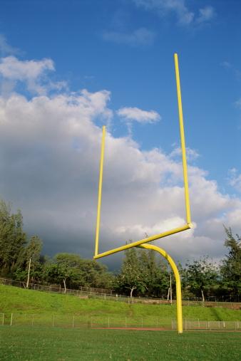 Goal Post「Goal post on football field」:スマホ壁紙(4)