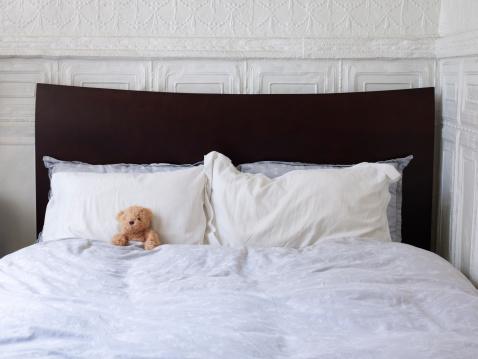 Duvet「Stuffed Teddy Bear In Bed Alone.」:スマホ壁紙(1)