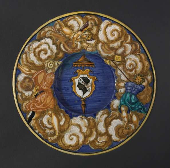 Plate「Plate With The Arms Of The Pucci Family」:写真・画像(7)[壁紙.com]