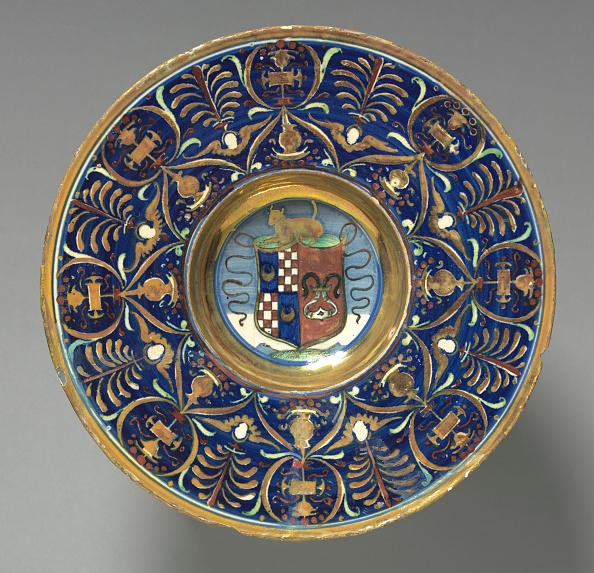 Crockery「Plate With The Arms Of The Vitelleschi Family」:写真・画像(9)[壁紙.com]