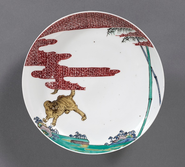 Crockery「Plate With Tiger In Bamboo」:写真・画像(13)[壁紙.com]