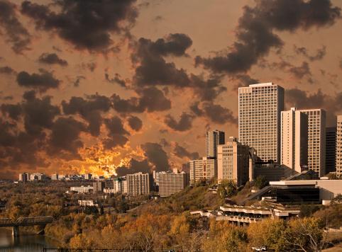Edmonton「Edmonton Autumn Sunset」:スマホ壁紙(17)