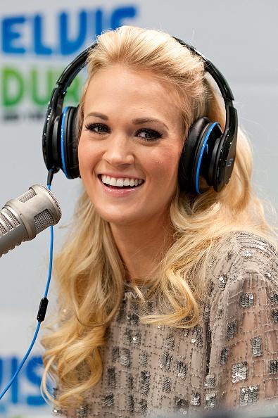 Eyeliner「Carrie Underwood Visits The Z100 Elvis Duran Morning Show」:写真・画像(3)[壁紙.com]