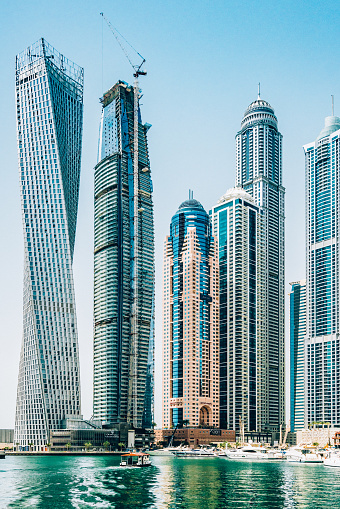 ビーチ「ドバイ ・ マリーナ, アラブ首長国連邦の高層ビル」:スマホ壁紙(5)