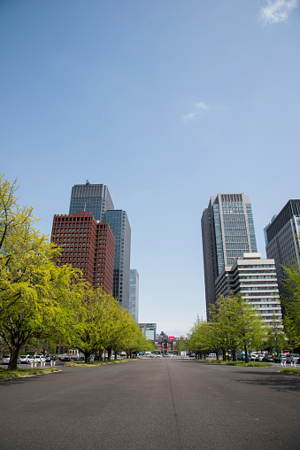 Marunouchi「Skyscrapers in Marunouchi, Tokyo」:スマホ壁紙(16)