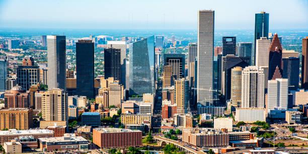 Skyscrapers of Downtown Houston:スマホ壁紙(壁紙.com)