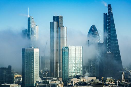Banking「Skyscrapers in City of London」:スマホ壁紙(1)