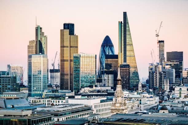 Skyscrapers in City of London:スマホ壁紙(壁紙.com)