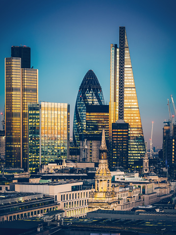 Sir Norman Foster Building「Skyscrapers in City of London」:スマホ壁紙(11)