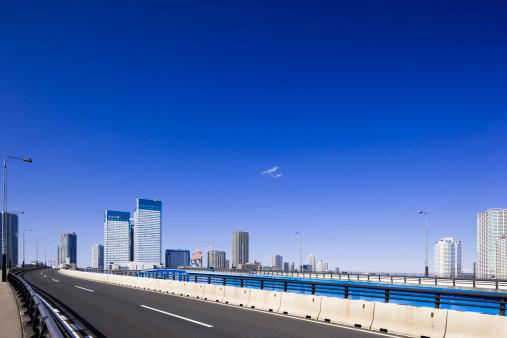 江東区「Skyscrapers and Motorway」:スマホ壁紙(15)
