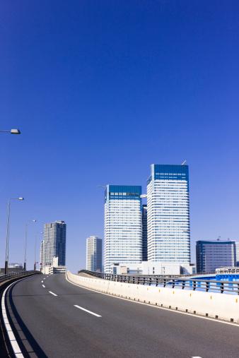 江東区「Skyscrapers and Motorway」:スマホ壁紙(16)