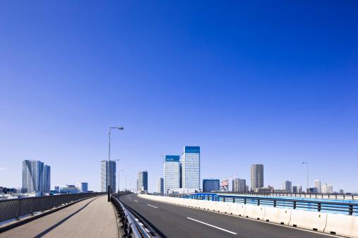 江東区「Skyscrapers and Motorway」:スマホ壁紙(6)