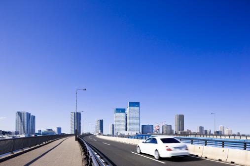 江東区「Skyscrapers and Motorway」:スマホ壁紙(7)