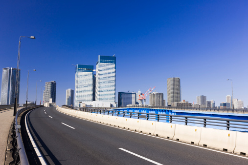 Japan「Skyscrapers and Motorway」:スマホ壁紙(1)