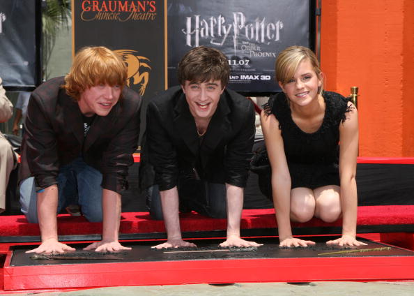 "Film Industry「Harry Potter Cast Hand And ""Wand-Print"" Ceremony」:写真・画像(13)[壁紙.com]"