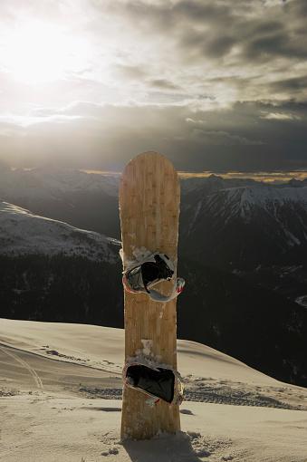 スノーボード「Snowboard, Davos, Switzerland.」:スマホ壁紙(14)